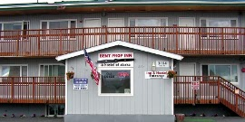 Bent Prop Inn's midtown Anchorage, Alaska location
